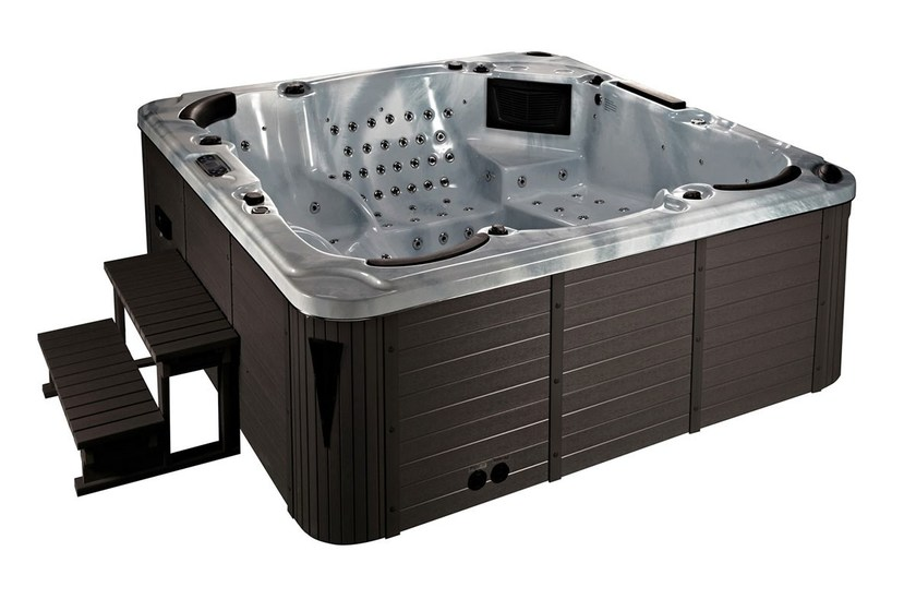 Hydromassage hot tub for chromotherapy 6-seats BL-876 | Hot tub 6-seats by Beauty Luxury