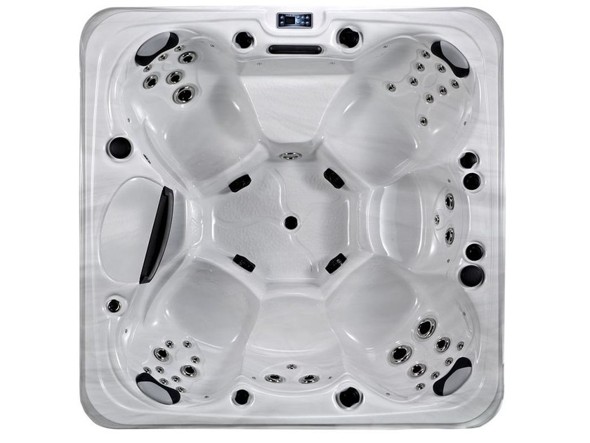 Hydromassage hot tub for chromotherapy 6-seats BL-878 | Hot tub 6-seats by Beauty Luxury