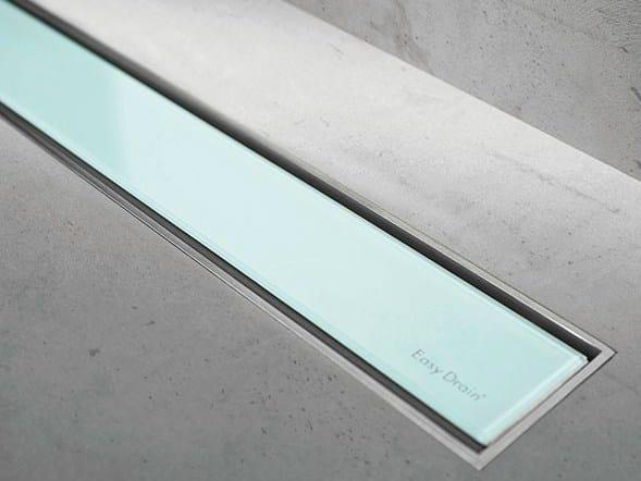 Shower channel MODULO TAF GREEN GLASS by ESS Easy Drain
