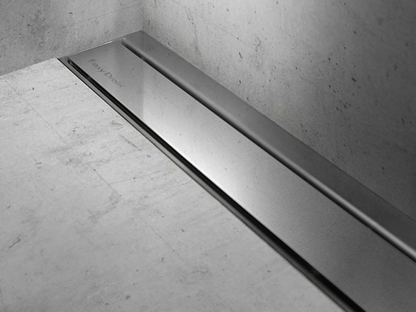 Shower channel MODULO TAF WALL CHROME-PLATED by ESS Easy Drain