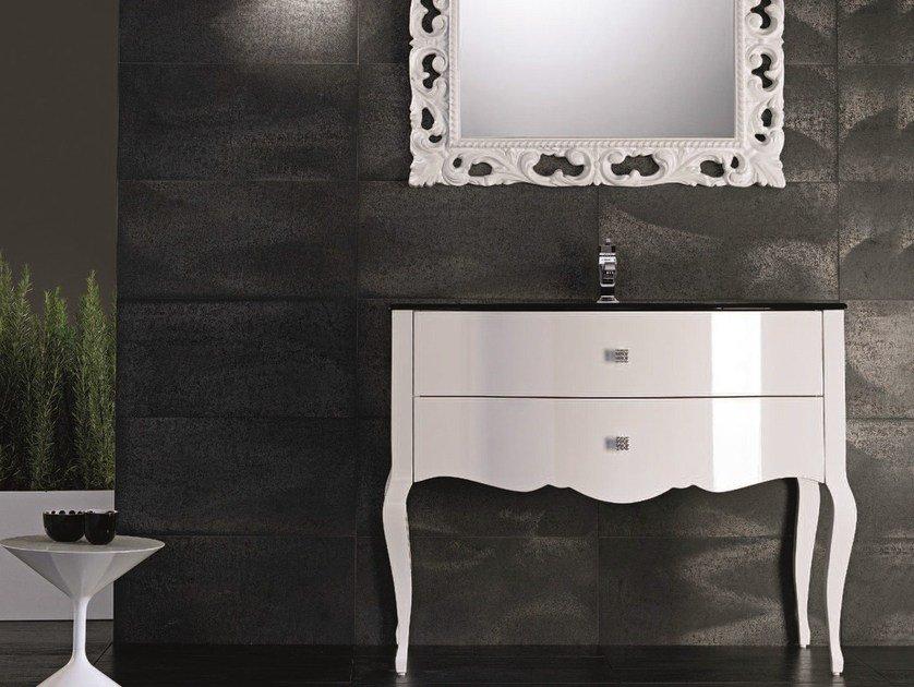 Console sink with drawers ADAM 04 by Mobiltesino