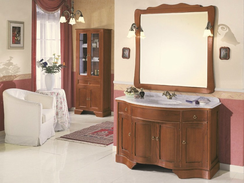 Console sink with doors MIREA 03 by Mobiltesino
