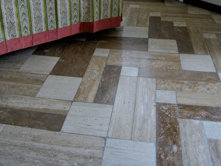 Natural stone wall/floor tiles TULLE by RAMA 1956
