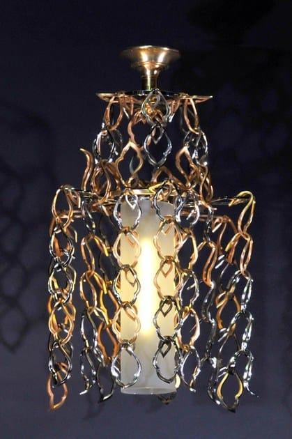 Metal chandelier 12500 | Chandelier by Tisserant