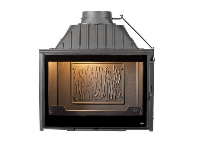 Cast iron Fireplace insert with Panoramic Glass SUPER 9 by CHEMINEES SEGUIN
