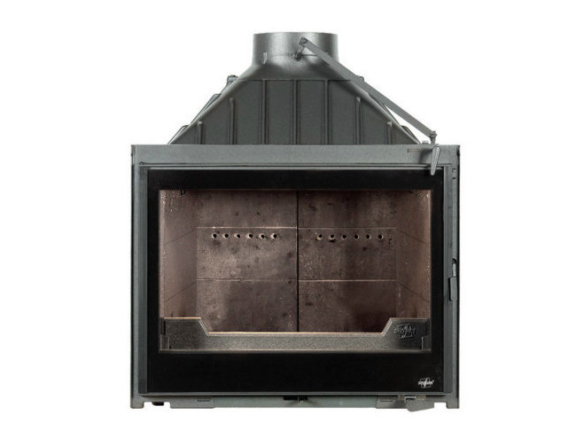 Cast iron Fireplace insert with Panoramic Glass EUROPA 7 EVO PLUS by CHEMINEES SEGUIN