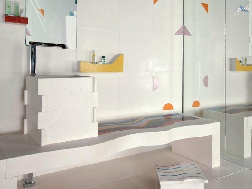 Natural stone wall/floor tiles VOLUMI | Wall/floor tiles by RAMA 1956