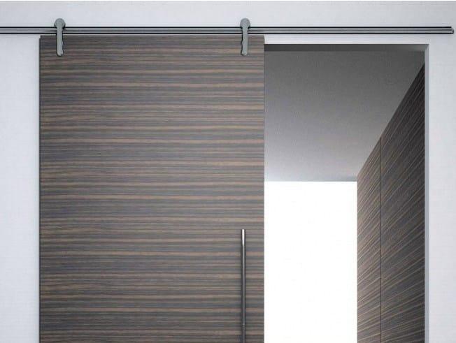 Metal sliding door track Minimal legno V-6060 by Metalglas Bonomi