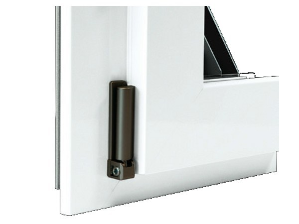 Aluminium and wood window with retractable Fibex sash Serie 503 by Agostinigroup