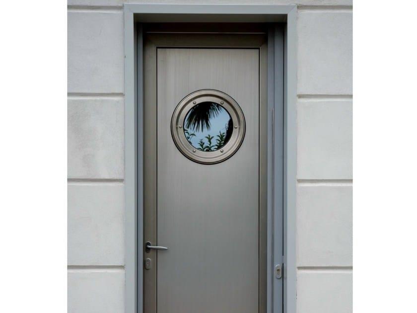 Porta d 39 ingresso in alluminio e legno by agostinigroup - Ingresso garage ...