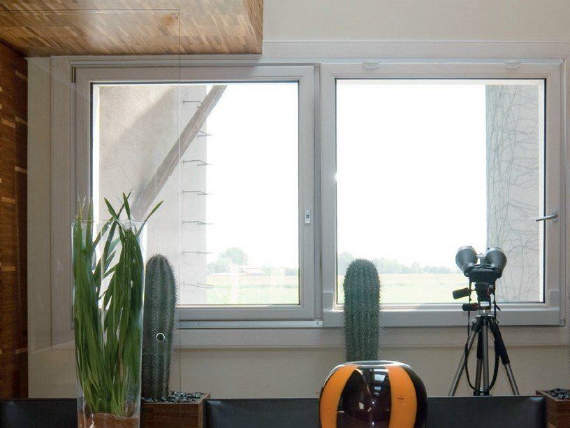 Finestre scorrevoli traslanti in alluminio e legno for Prezzi porte finestre in alluminio