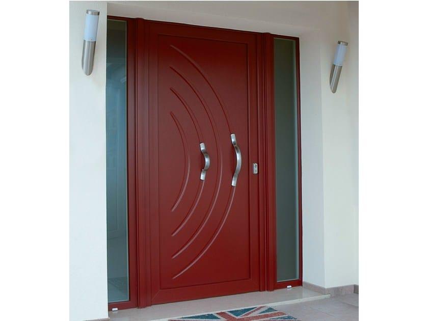 Exterior PVC entry door PVC entry door by Agostinigroup
