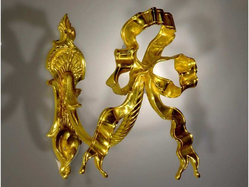 Bronze tieback 47540   Tieback by Tisserant