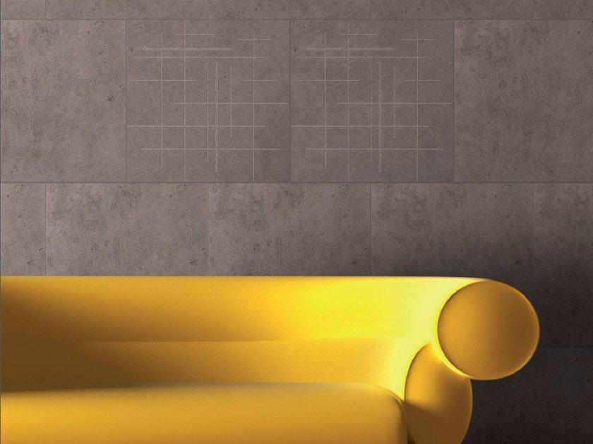 Natural stone wall tiles INCISIONI by RAMA 1956