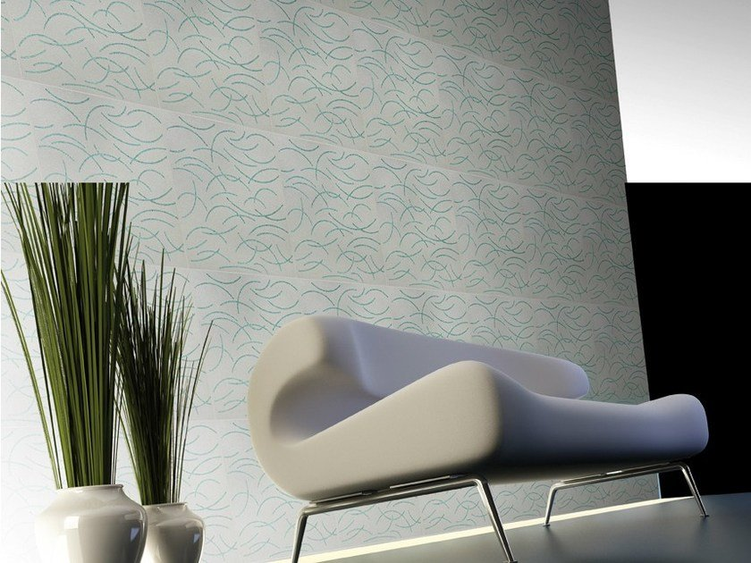 Natural stone and glass wall tiles FILI by RAMA 1956