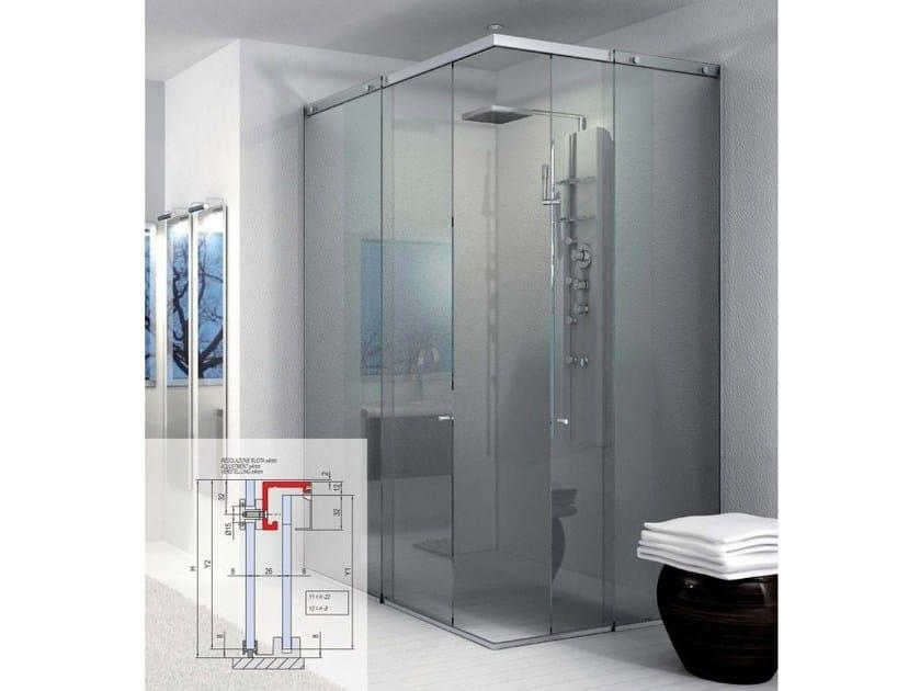 Showers box Compact BX-1000 | Shower cabin by Metalglas Bonomi