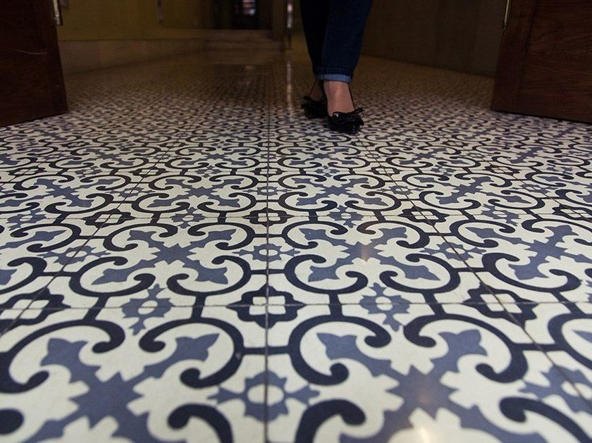 Cement wall/floor tiles CLA_CB_36 by enticdesigns