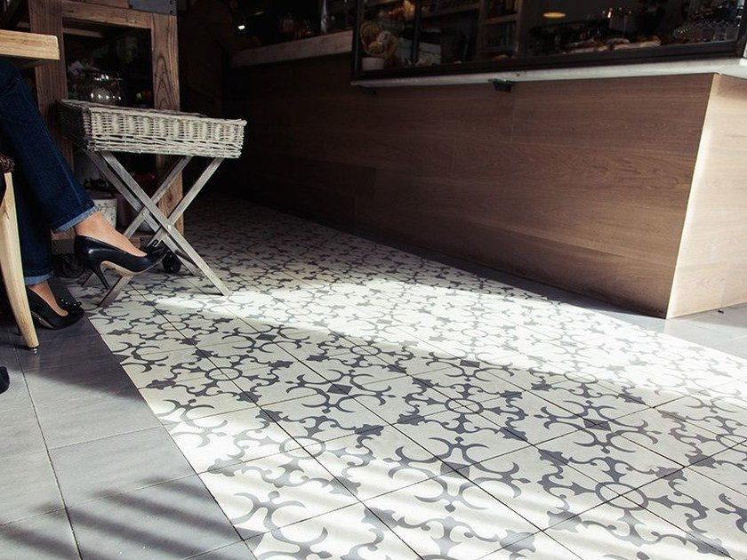 Cement wall/floor tiles CLA_CB_18 by enticdesigns