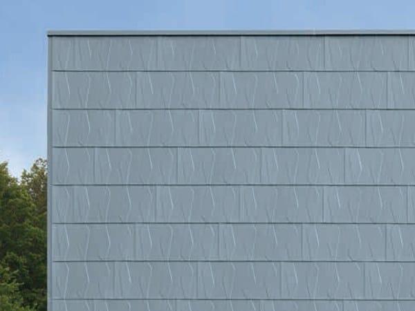 Panel for facade SCAGLIA CRISTAL by RHEINZINK Italia