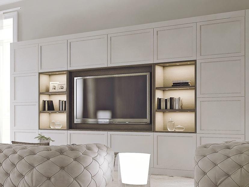 attrezzata in legno con porta tv AETERNA | New Classic By L\'Origine