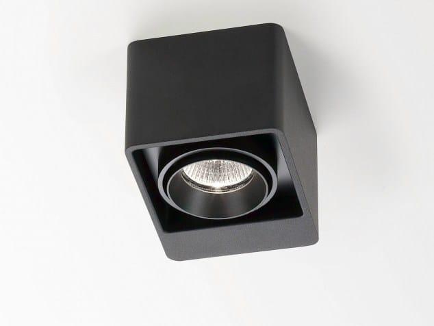 Ceiling spotlight BOXTER 1 50 by Delta Light