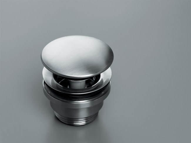 Washbasin stainless steel pop up plug COCOON MONO 51 by COCOON
