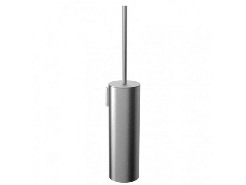 Wall-mounted stainless steel toilet brush COCOON MONO 62 | Toilet brush by COCOON