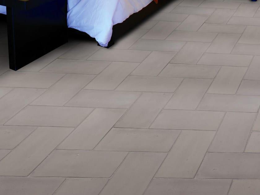 Quarry flooring Ventilate terracotta - Dove Gray by Danilo Ramazzotti