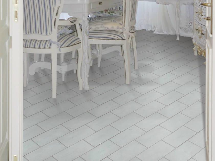 Quarry flooring Ventilate terracotta - Lightblue by Danilo Ramazzotti