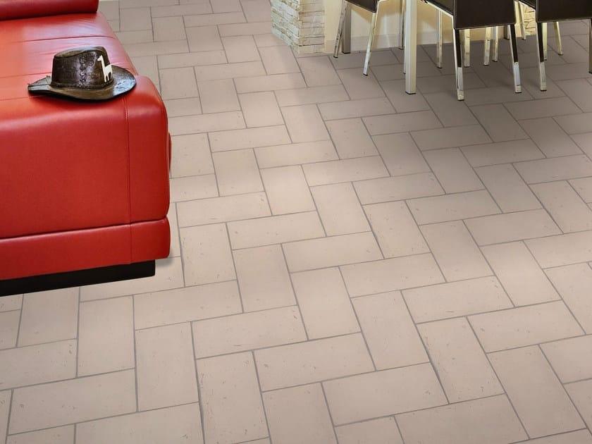 Quarry flooring Ventilate terracotta - Cipria by Danilo Ramazzotti