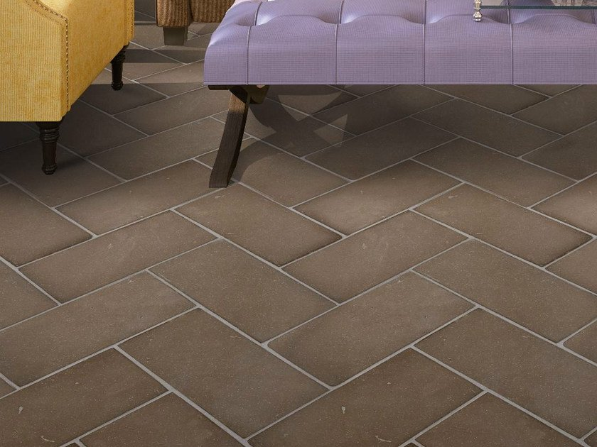 Quarry flooring Ventilate terracotta - Walnut by Danilo Ramazzotti
