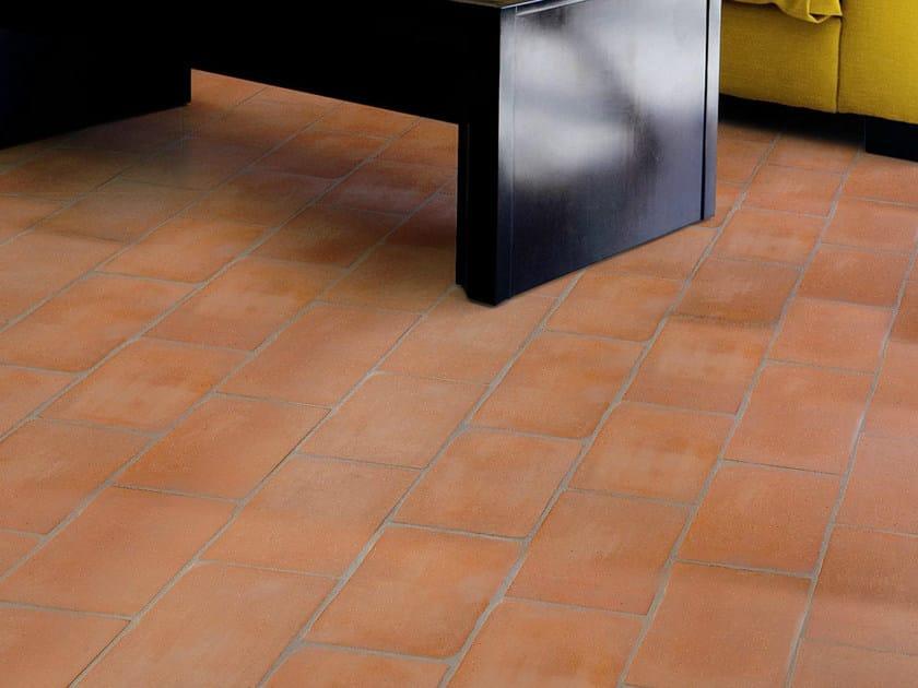 Quarry flooring Ventilate terracotta - Red by Danilo Ramazzotti