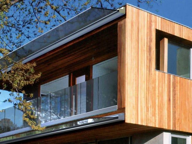 Glass porch B-2040 JOLLY PACK by Metalglas Bonomi