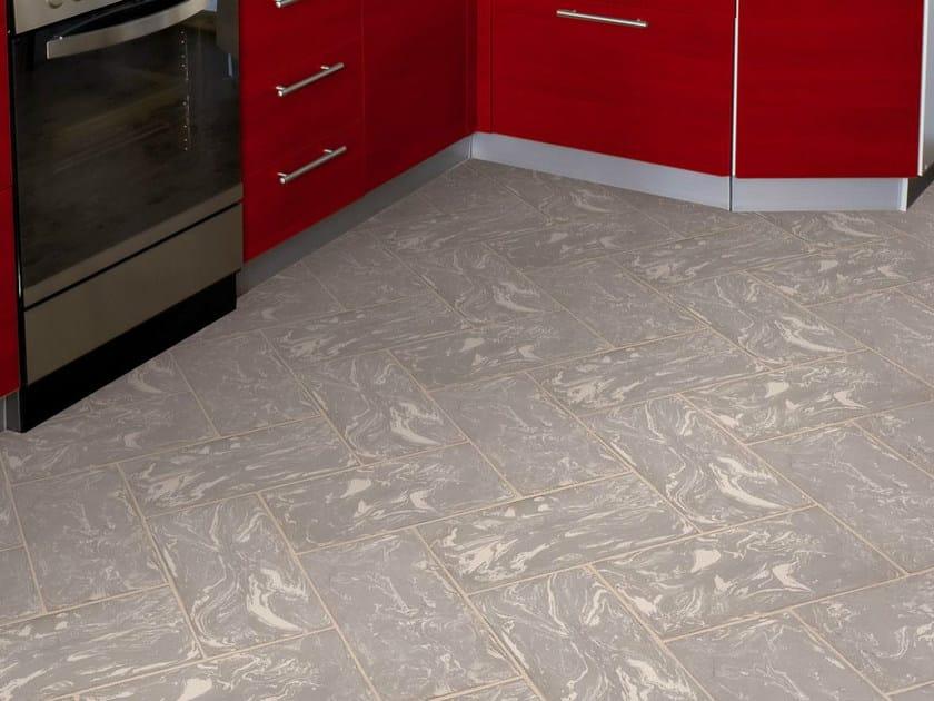 Quarry flooring Dove gray cotto variegated white by Danilo Ramazzotti