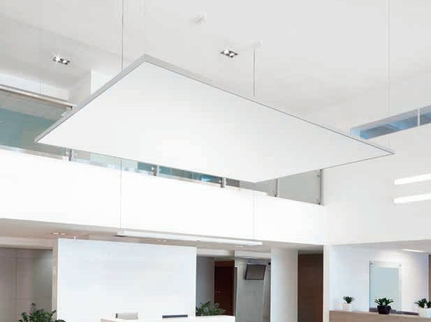 Acoustic ceiling clouds THERMATEX® Sonic modern by Knauf Amf