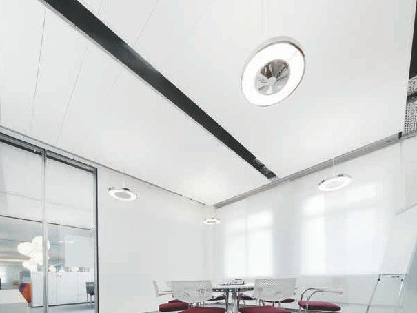Acoustic ceiling clouds THERMATEX® Sonic sky by Knauf Amf