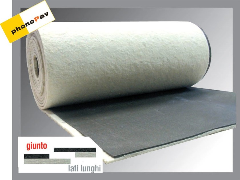 Sound insulation felt PHONOPAV DUO TOP SOFT by Thermak by MATCO