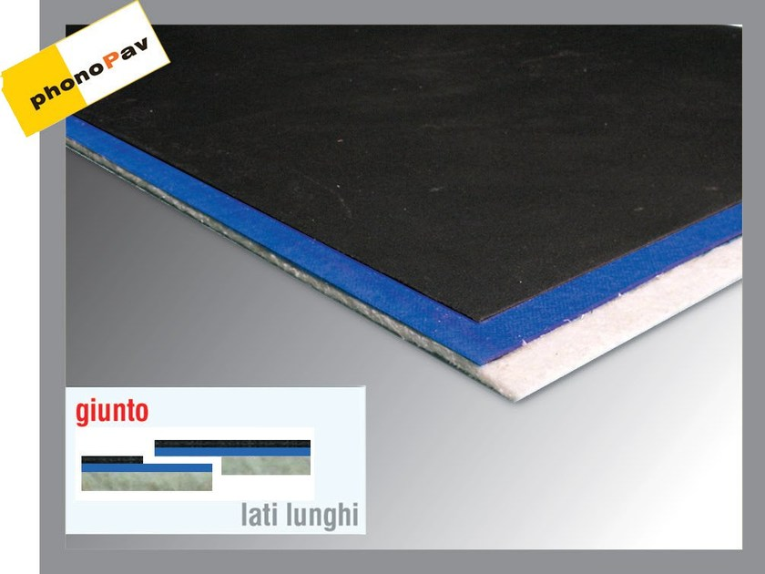 Sound insulation panel PHONOGUM DUO by Thermak by MATCO