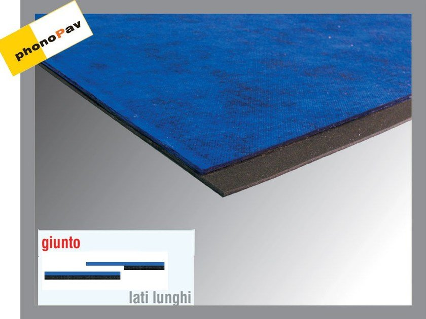 Sound insulation panel PHONOGUM MONO by Thermak by MATCO
