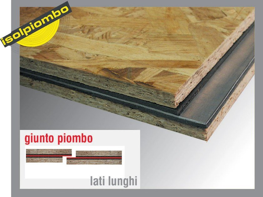 Sound insulation and sound absorbing felt with lead-laminate SILENZIOSO 1 by Thermak by MATCO