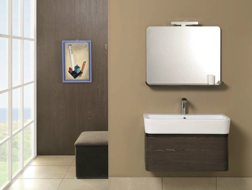 Single vanity unit with drawers WEB 01 by Mobiltesino