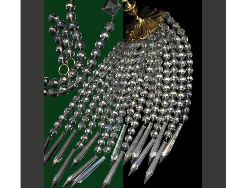 Crystal tieback 75100   Tieback by Tisserant