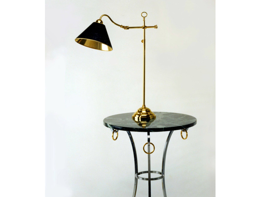 Bronze table lamp 50960 | Table lamp by Tisserant
