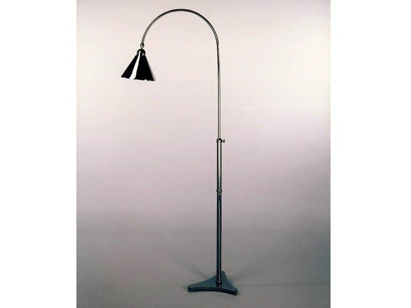 Bronze floor lamp 50767   Floor lamp by Tisserant