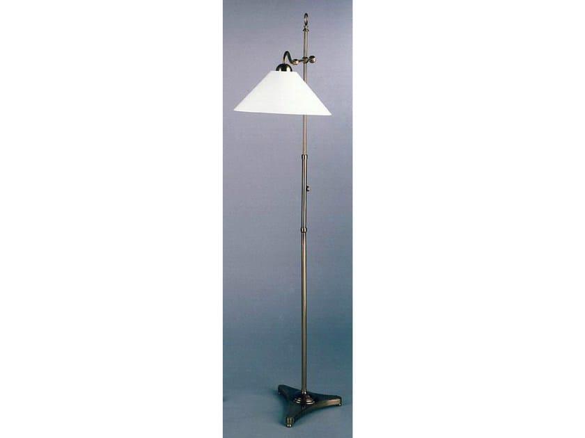 Bronze floor lamp 50871 | Floor lamp by Tisserant