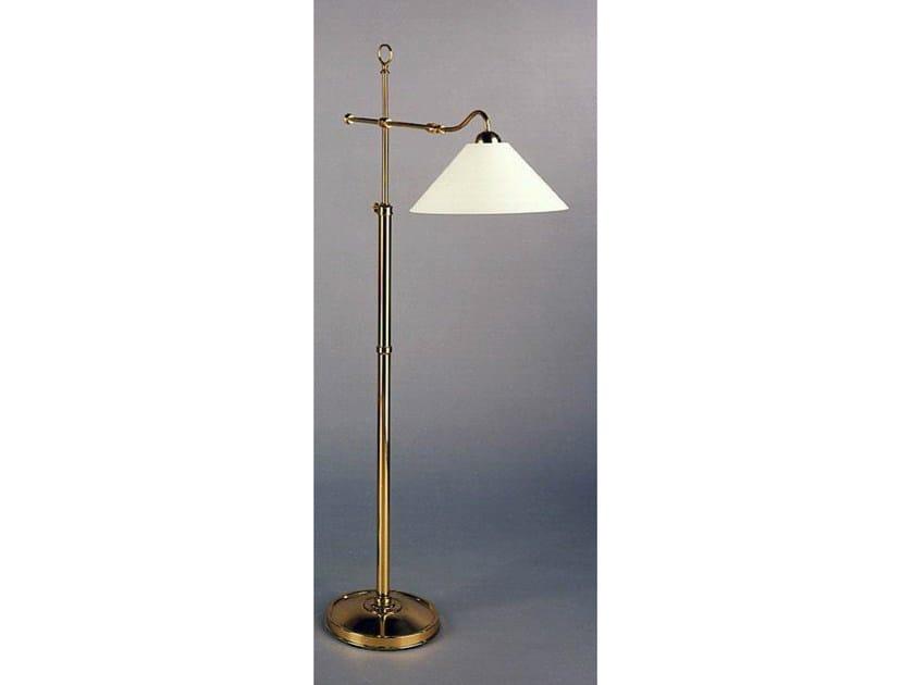 Bronze floor lamp 50970 | Floor lamp by Tisserant
