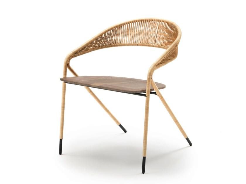 Chair with armrests GEORGE'S by Living Divani