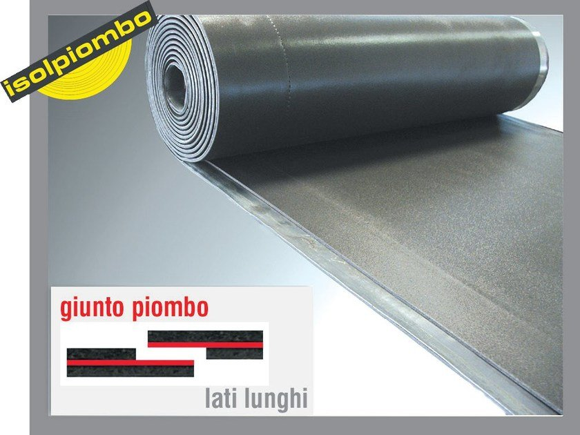 Sound insulation and sound absorbing felt with lead-laminate ACUFLOT by Thermak by MATCO