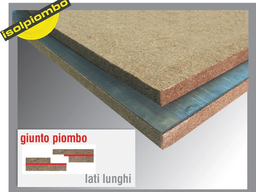 Sound insulation and sound absorbing felt with lead-laminate PAV by Thermak by MATCO