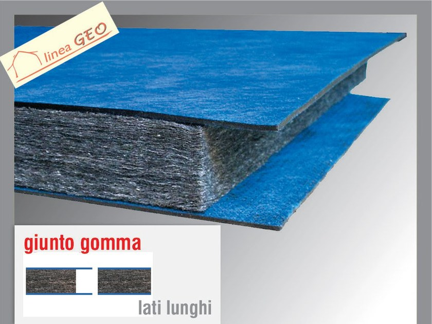 Sound insulation panel POLIGRAFITE GUM 4+8 by Thermak by MATCO